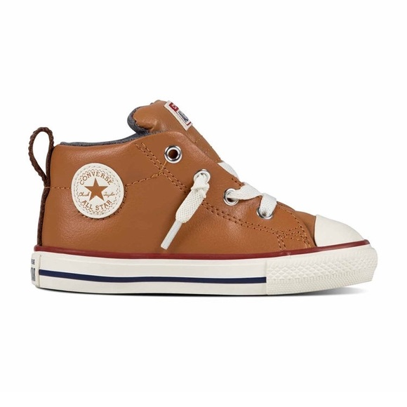 Converse Other - Brown Leather Converse 5d860311a
